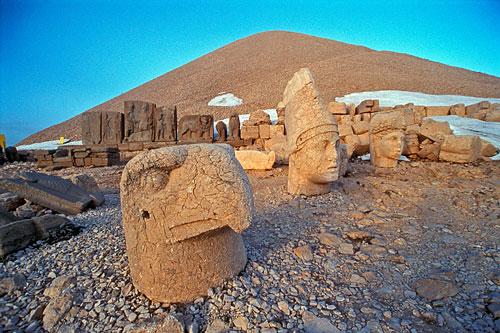 Cabezas de Roca, Nemrut Dagi