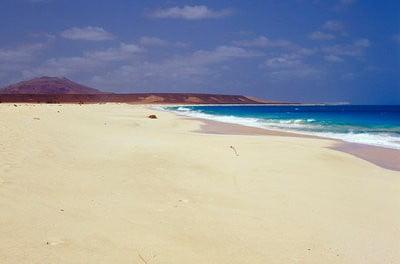 Cabo Verde, África. playa