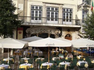 Café Nicola en Lisboa