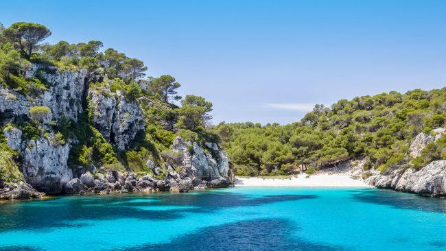 Cala Macarelleta de Menorca, España