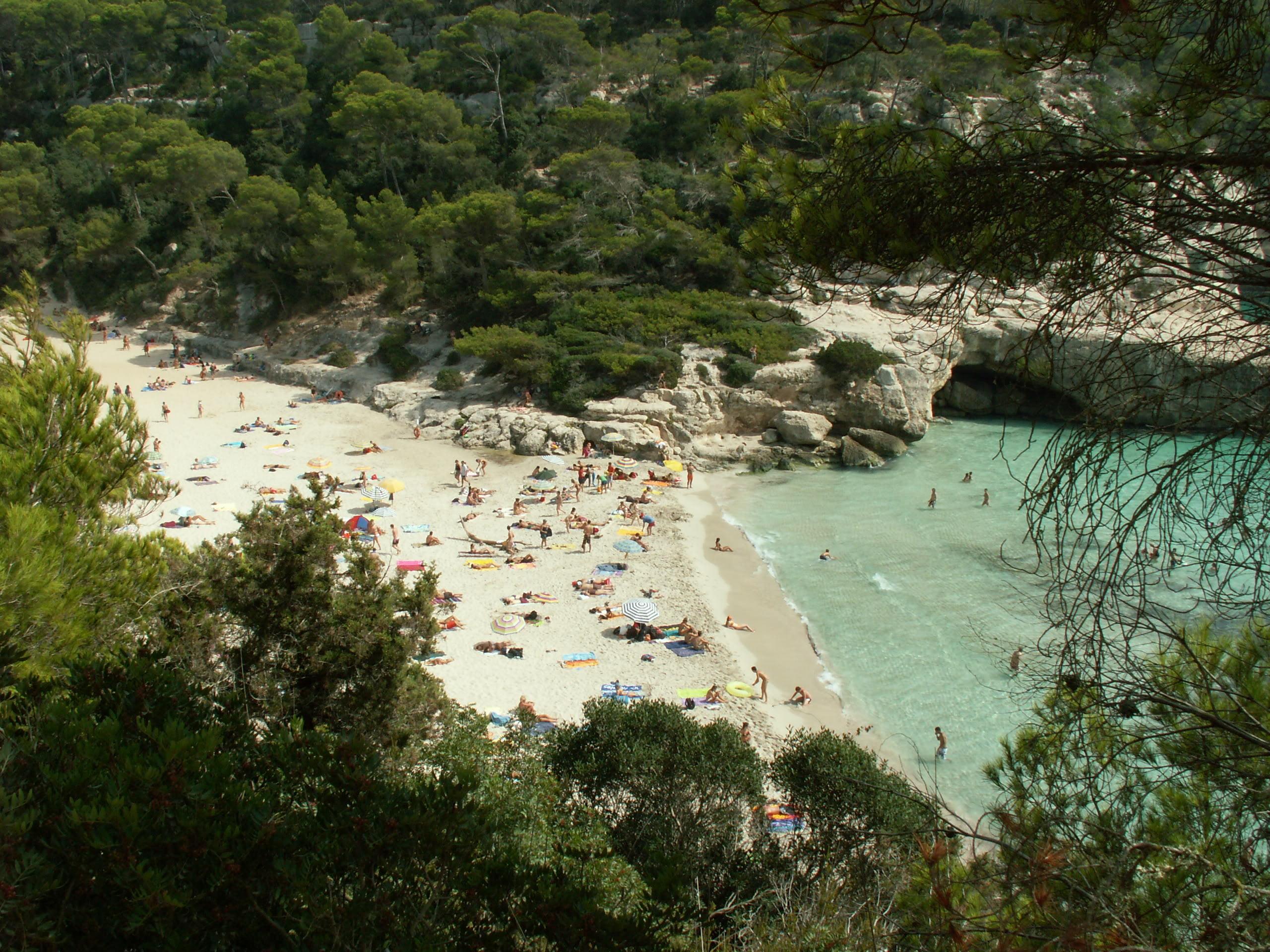Cala Mitjana de Menorca