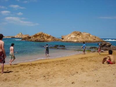 Cala Pregonda en Menorca