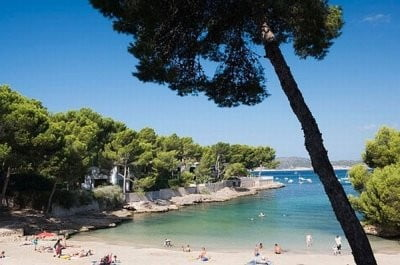 calas & playas cala  Santa Ponça