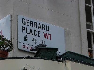 Calle Gerrard, del Barrio Chino
