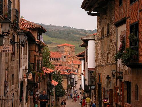 Calle de Santillana del Mar, Cantabria