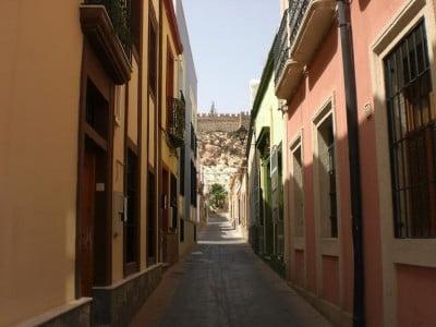 Calle del barrio de la Almedina