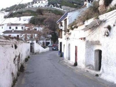Calle del Sacromonte de Granada