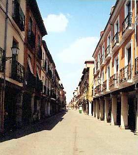 Fotos de la famosa Calle Mayor de Alcala de Henares