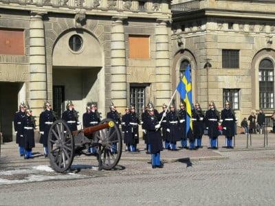 Cambio de guardia en Estocolmo