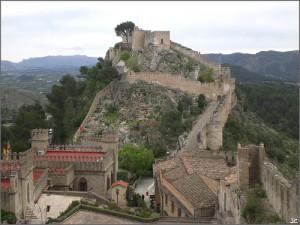 Camino al Castillo de Játiva
