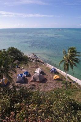 camping en Doñana cerca al mar
