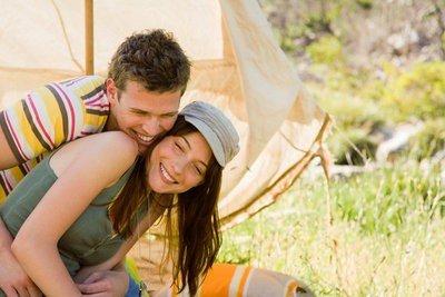 camping en Doñana en pareja