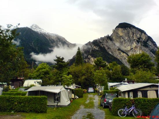 Camping en Suiza