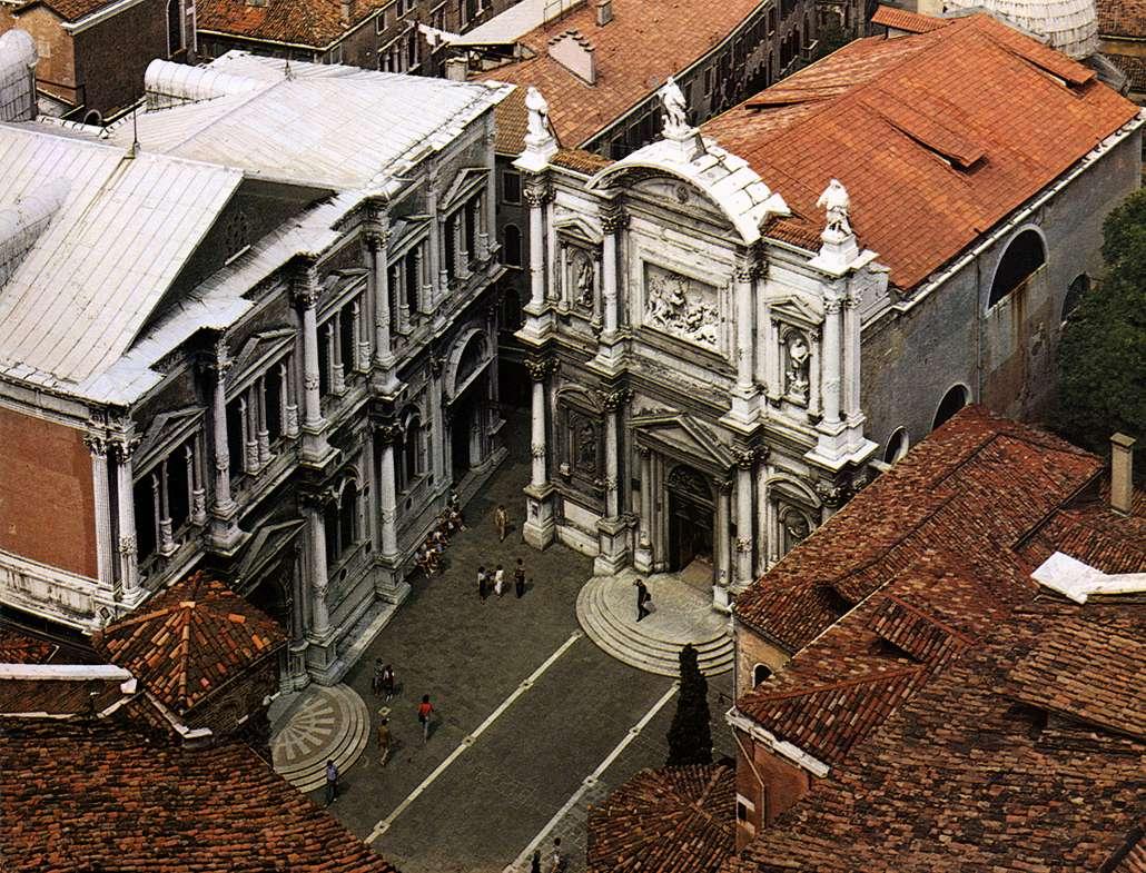 Campo di San Rocco, Venecia