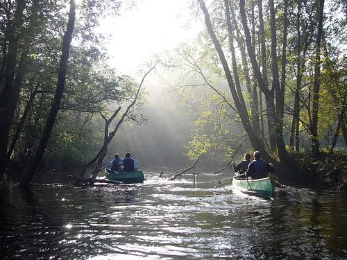 Canoas en Suecia