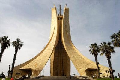 Capital de Argelia monumento