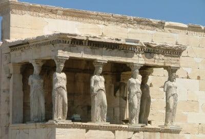 Cariátides de Grecia