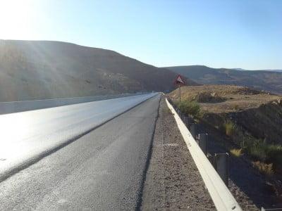 Carretera a Jordania