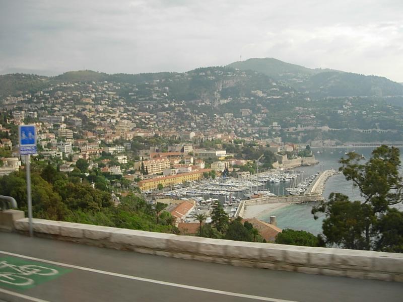Carretera a Mónaco