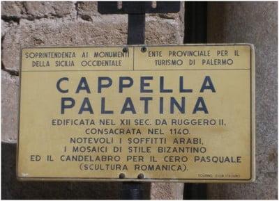 Cartel Capilla Palatina