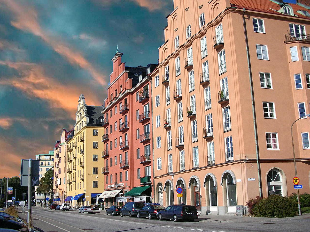 Casas de Estocolmo