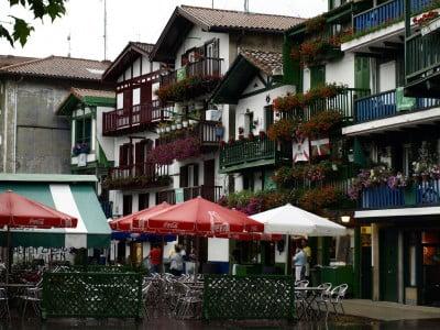 Casas de Fuenterrabia en el País Vasco