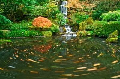 cascadas decorativas jardín