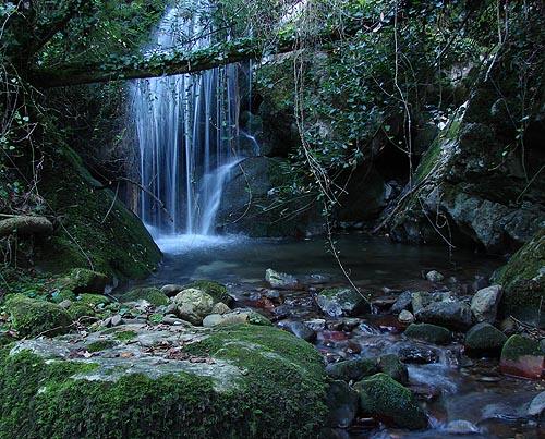 Cascadas en Los Picos de Europa