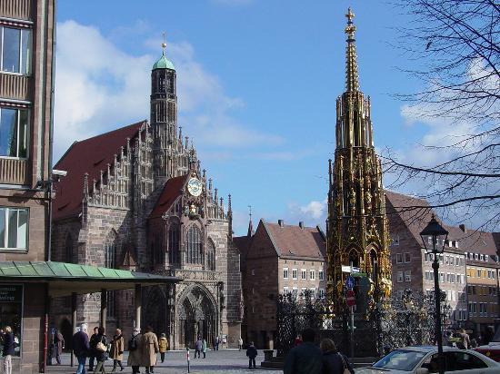 Casco Historico de Nuremberg, Alemania