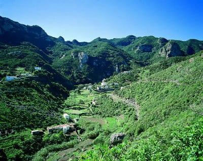 Caseríos del Parque Rural Anaga