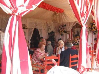 Caseta de la Feria de Sevilla