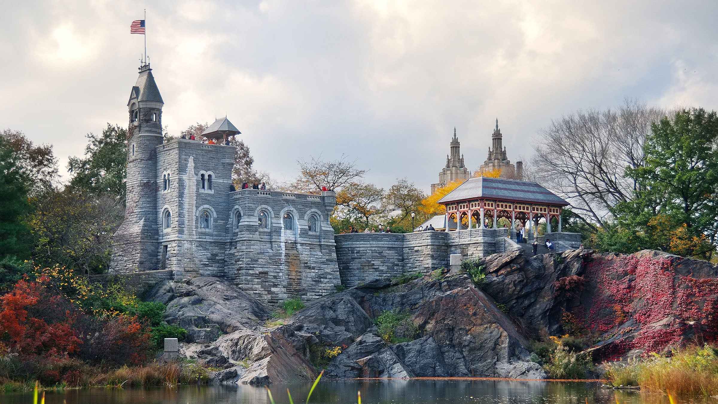 Castillo Belvedere de Nueva York