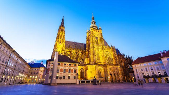 Castillo de Praga, el mas grande del mundo