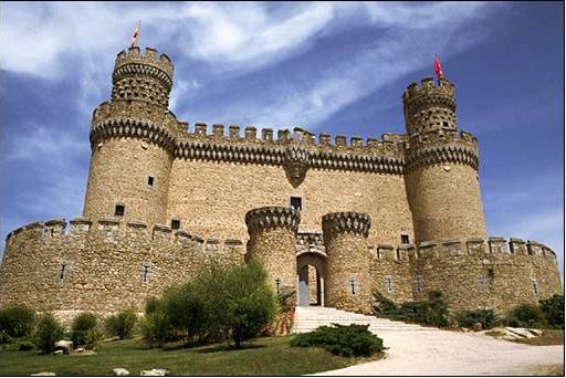 Castillo manzanares el real Casas en manzanares el real