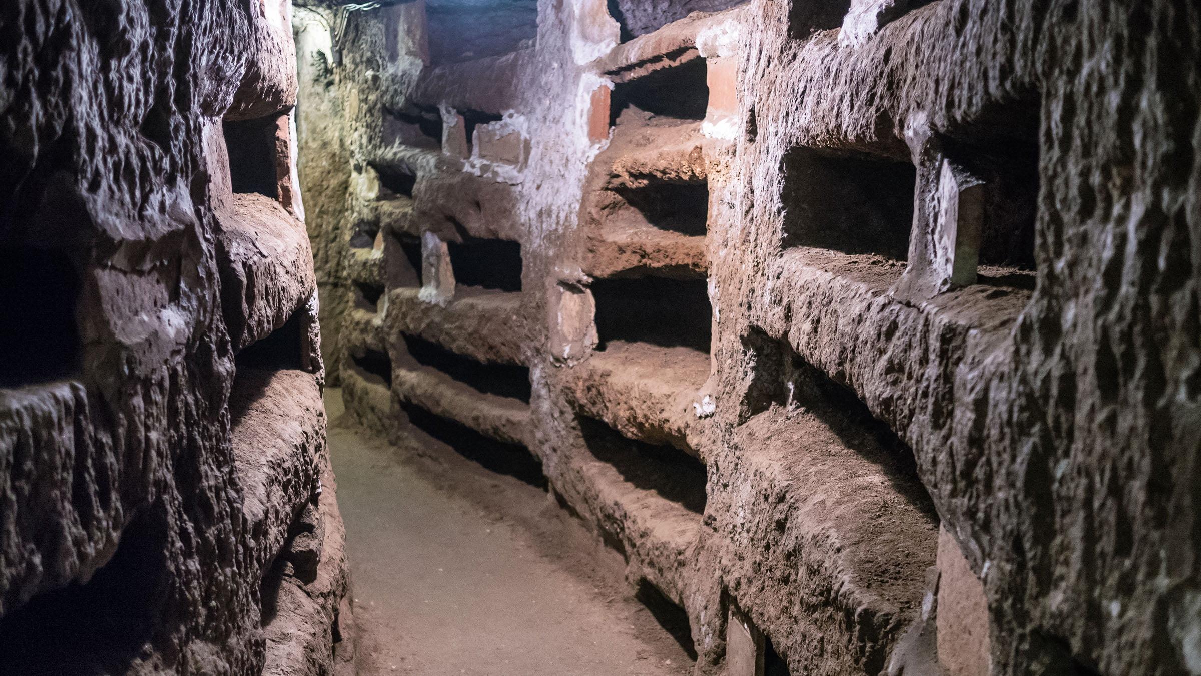 Catacumbas en Roma