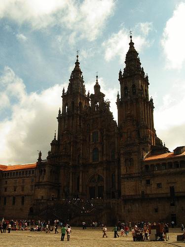 Foto de la majestuosa Catedral de Santiago