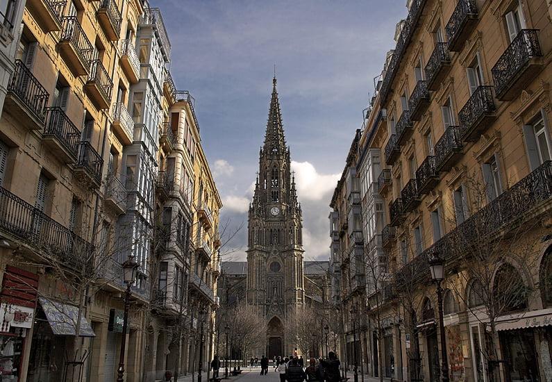 Catedral del Buen Pastor en San Sebastián