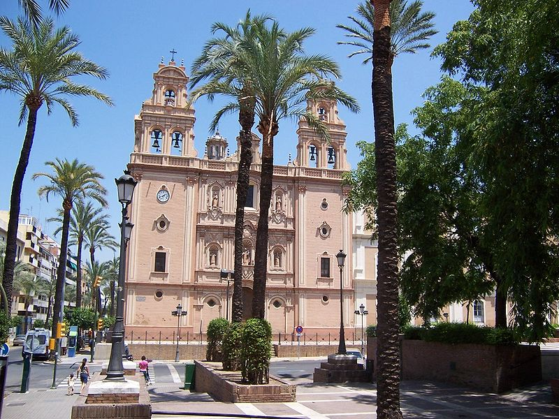 Catedral en Huelva