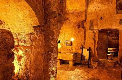 Hotel en cueva