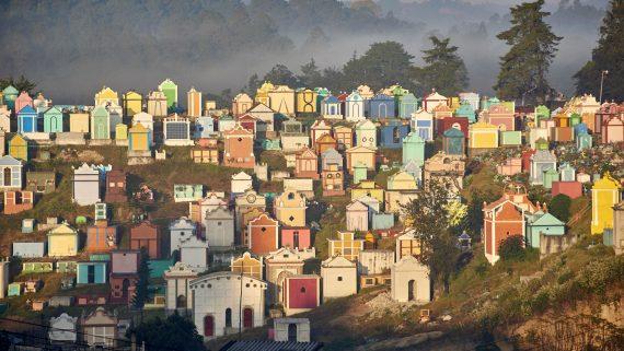Cementerio de Chichicastenango, Guatemala