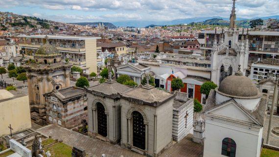 Cementerio de San Diego en Quito, Ecuador