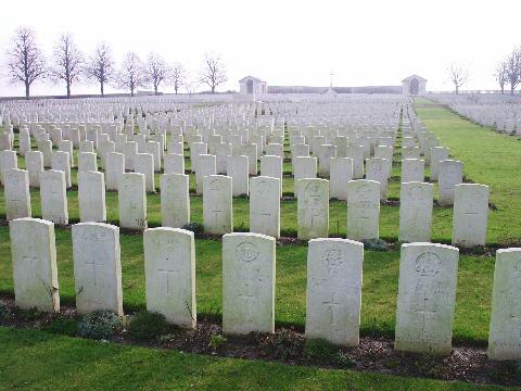 Cementerio en Francia