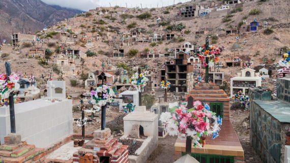 Cementerio en Maimará, Humahuaca, Argentina