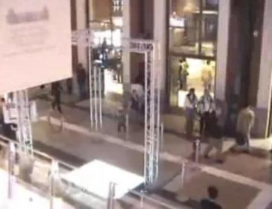 Centro Comercial Príncipe Pío demostraciones