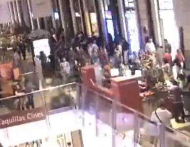 Centro Comercial Príncipe Pío interior
