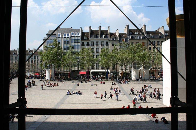 centro de París el entorno
