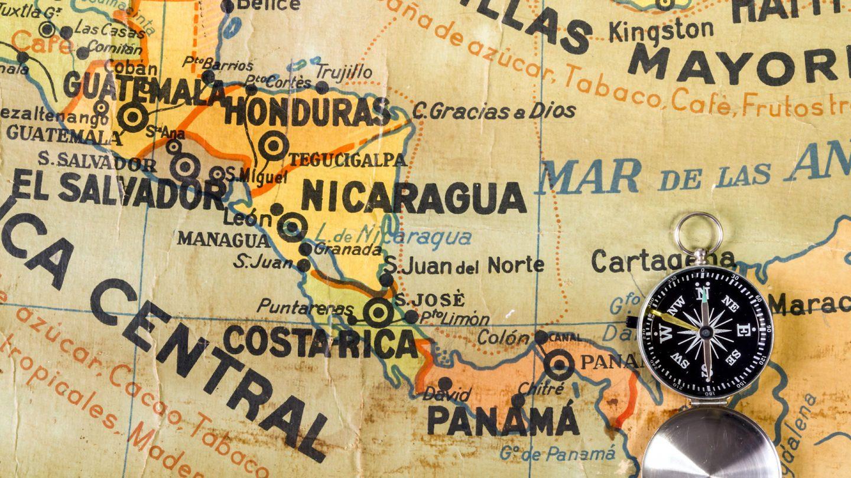 Mapa Sudamerica Y Centroamerica.Mapas De America Central