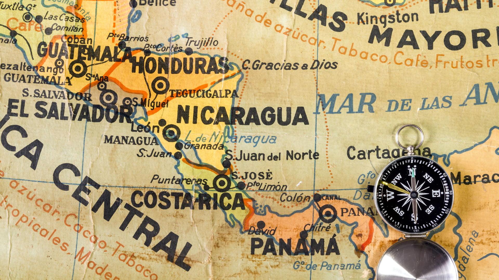 América Central o Centroamérica