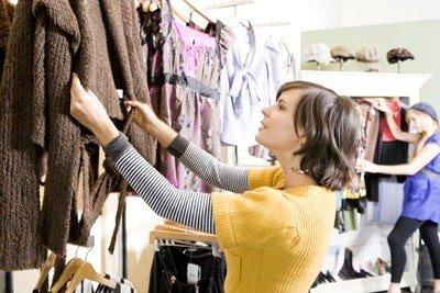 Centros comerciales en París ropa