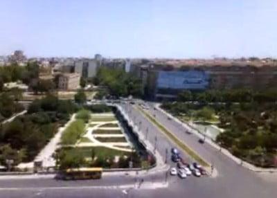 Centros comerciales en Valencia vista desde el Expo Hotel
